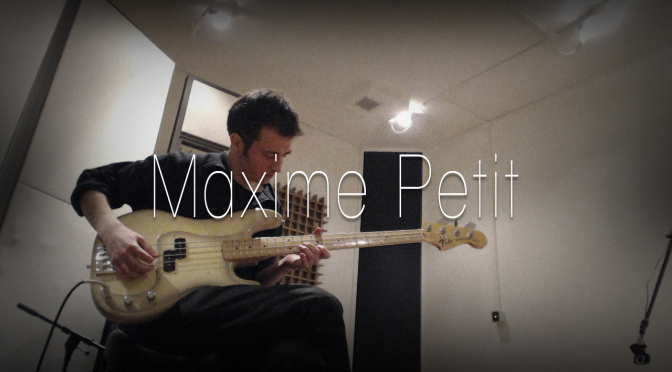 Maxime Petit – 14 April 2014 – Experimental Solo Bass From Lille