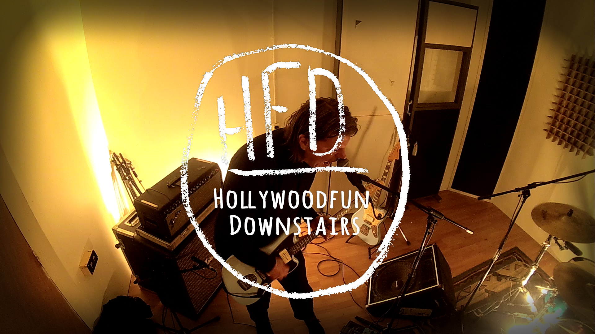 Hollywoodfun Downstairs White Noise Sessions0
